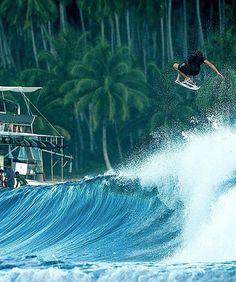 La foto de surf de redbull