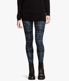 Patterned leggings HM