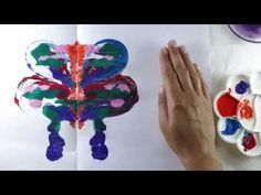 Symmetric Painting of a Butterfly