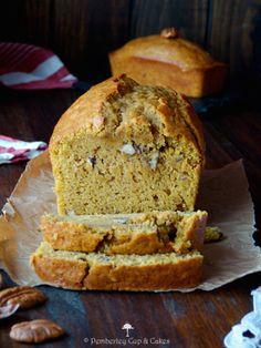 Spiced Pumpkin Pecan Bread