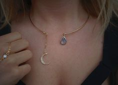 Hey, I found this really awesome Etsy listing at https://www.etsy.com/listing/195404932/the-sky-blue-moon-collar