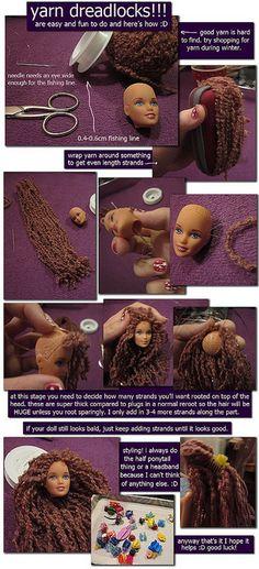 yarn dreads   Flickr - Photo Sharing!