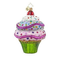 Christopher-Radko-Sugar-Rush-Cup-Cake-Glass-Christmas-Ornament-4-5inh