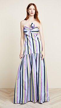 6c501ee0bbb Caroline Constas Strapless Maxi Dress