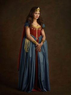 Elizabethan Wonder Woman by Sacha Goldberger