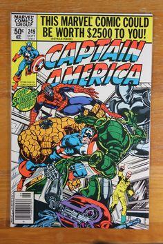 Captain America Vol 1 # 249