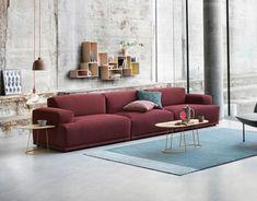 Auf diesem Sofa können Sie gut Kirschen essen, viele Stunden lang mit vielen Freunden - und das nicht nur, weil es farblich so gut passt. Gemütlich und...
