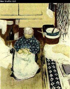 Edouard Vuillard kokerskan