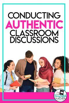 Close Reading Strategies, Teaching Literature, Ela Classroom, Middle School Ela, High School English, High School Classes, Teaching English, Fishbowl, Listening Skills
