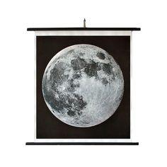 Hand Printed Moon Chart / TRNK