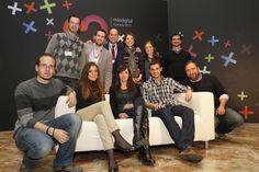 Equipo de trabajo de la oficina de comunicación de la Conferencia Internacional de Software Libre