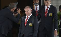 Manchester United crested suit