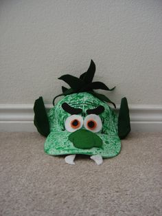 trolls of goat hat costume. Eco friendly toy. by BBBsDesigns, $13.00
