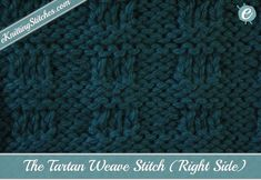 The Tartan Weave Stitch is a simple and straightforward combination of the…
