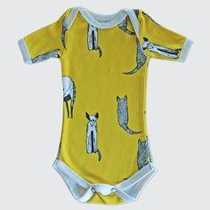 Yellow Naughty Jakkels Onesies, Range, Yellow, Baby, Kids, Shopping, Clothes, Fashion, Toddlers