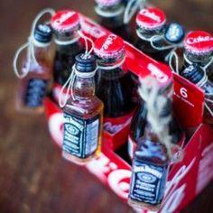 Jack and Coke, Christmas exchange gift idea gift idea . Jack and Coke, Christmas exchange gift idea Gift idea .
