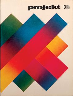 Take a look at the simplistic but striking cover designs of graphics magazine Projekt. Since the publication was launched in 1955,  it's had numerous designers creating the cover art, such as the members of the famous Polish Poster School –  Henryk Tomaszewski, Józef Mroszczak and Jan Lenica.  This graphic gallery features various covers from the late 1960s through to the early 1970s , including some Twitter style birds on the cover of an issue from 1969. #illustration #graphicdesign