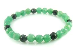 BB0663 Aventurine Onyx Natural Crystal Gemstone Stretch Bracelet - See more at: http://waggashop.com/wagga-shop-bb0663-aventurine-onyx-natural-crystal-gemstone-stretch-bracelet