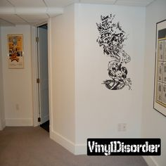 Biomechanical Ripped Wall Decal - Vinyl Decal - Car Decal - CD23014