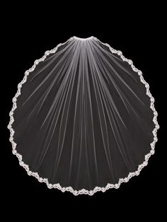 Cathedral beaded veil