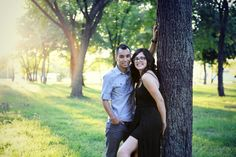 Ana + Juan | Carthage Missouri Couple Session