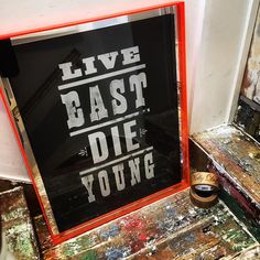 #NellyDuff #PureEvil #Live #East #Die #Young #screenprint #flruo #Orange #London #Hackney #Silver Hackney, Columbia Road, London, The Duff, Screen Printing, Pure Products, Orange, Live, Architecture