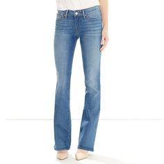 Women's Levi's 715 Modern Fit Bootcut Jeans, Size: 26 30, Med Blue