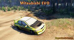 Mitsubishi EVO v1.0 for Spin Tires 2014