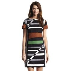 Derek Lam for DesigNation Striped Sheath Dress