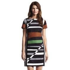 Derek Lam for DesigNation Striped Sheath Dress