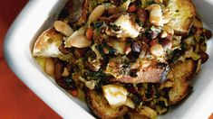 Cavolo nero and bean soup (ribollita)