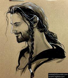 He's so happy ~ Thorin 0605 by ~evankart on deviantART