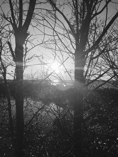Güneşin batışı.