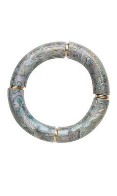 Abalone Bracelet -   Bracelet with Polyclay Components