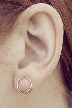 simple - for those who like the occasional look of plugs but can't handle the idea of ruining your ears.