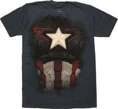 Captain America Avengers Ultron Suit T-Shirt Sheer #blackfriday #blackfridaysale
