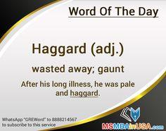 #WordOfTheDay Via http://www.msmbainusa.com/
