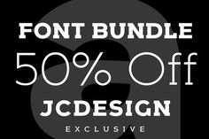Font Bundle by JC DESIGN by Jan-Christian Bruun on @creativework247
