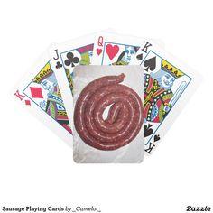 Sausage Playing Cards