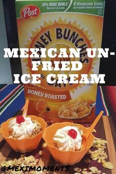 Mexican Un-Fried Ice Cream is so easy to make with Honey Bunches of Oats https://ooh.li/c4fcfa1