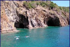The Caves at Norman Island BVI  One of the best snorkeling experiences
