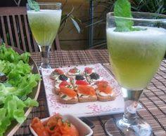 Receita Sumo de meloa, hortelã e gengibre por sonialegre - Categoria da receita Bebidas