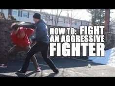 How to Fight Someone Faster Than You Using Head Movement and Footwork | Shane Fazen | fighttips.com #streetfight #self-defence