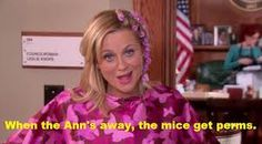 i love you way too much amy poehler. leslie knope. perm. parks and recreation.