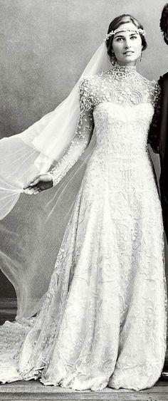 Mariage : 40 robes de mariée vintage repérées sur Pinterest   Glamour