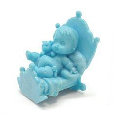Molde Silicona Bebé en Cuna