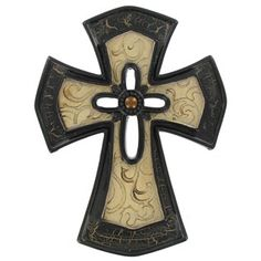 Antique Gold & Brown Cross with Smaller Cross | Shop Hobby Lobby