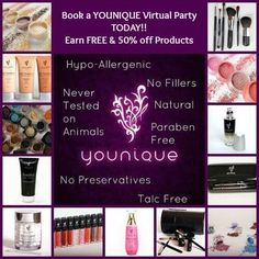 Book your party today??   Loose nothing but gain endless potential..  PM me for more information.