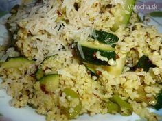 Pšeno s cuketou Potato Salad, Zucchini, Grains, Recipies, Potatoes, Vegetables, Fit, Ethnic Recipes, Bulgur