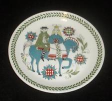 "Figgjo Flint Saga Norsk Design 8"" Bride and Groom Wedding Plates"